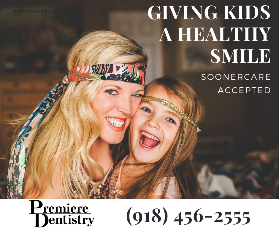 Giving Kids a Healthy Smile - Soonercare accepted